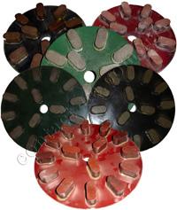Диски для шлифования гранита (пластик)