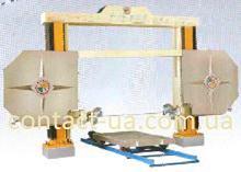 Канатные станки для резки блоков и фигурной резки КСФ-2000/2500
