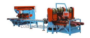 Автоматическая мини-многопильная производственная линия мостового типа