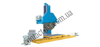 Однопильный продольно-консольный станок для распиловки гранитных блоков
